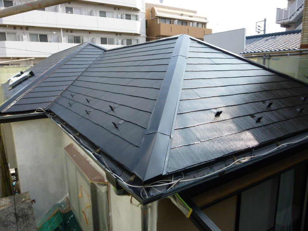 施工後屋根②